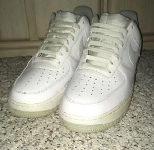 Details about Men's NIKE AIR Air Force 1 AF1 Athletic Sneakers  Shoes~White~488298 154~Size 12