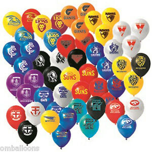 AFL-ALL-TEAM-BALLOONS-PACK-OF-25