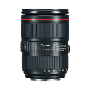 Canon EF 24-105mm f/4L IS II USM Lens 742880773345
