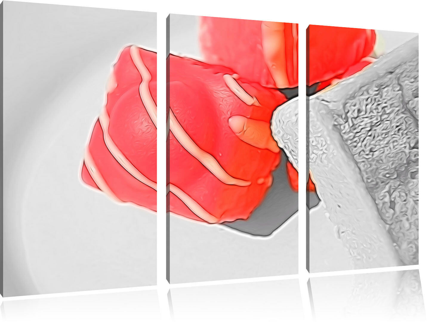 Appetitosa caramelle 3-Divisorio Tela Tela Tela Decorazione stampa d'arte 6fcfc5