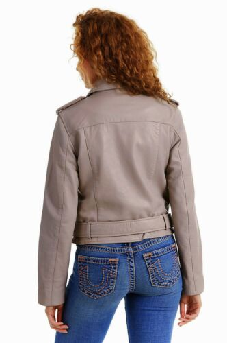 Leather Women's 439 coat Wsdv1bx2 Sheep Religion Jacket True Moto 746wpxq