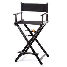 Item 1 Portable Folding Makeup Artist Directors Chair, Lightweight Aluminium    Black  Portable Folding Makeup Artist Directors Chair, Lightweight  Aluminium ...