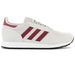 adidas-Originals-Forest-Grove-Herren-Sneaker-Schuhe-Grau-Retro-Turnschuhe-B41547