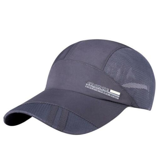 Adult Sports Mesh Hat Quick-Dry Collapsible Sun Outdoor Sunscreen Baseball Cap