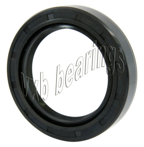 "Oil and Grease Seal 3.543/""x 4.646/""x 0.472/"" Inch Rubber Covered Double Lip w//Gart"