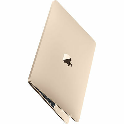 "Apple New Macbook 2016 12"" 512gb Gold MLHF2 Retina Display Agsbeagle Paypal"