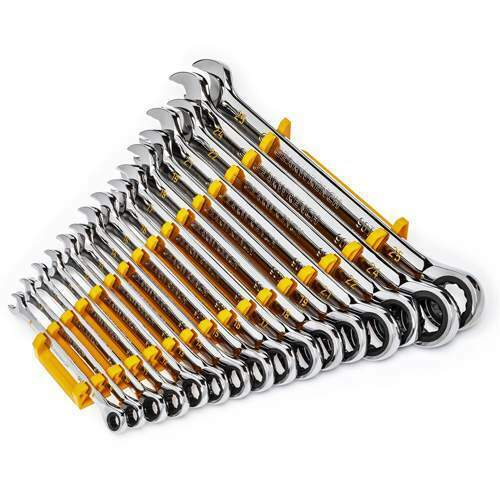 GEARWRENCH 86928 16 Pc 90 Tooth 12 Point Ratcheting Wrench Set, Metric NEW. Buy it now for 159.99