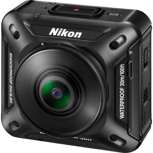 Nikon KeyMission 360 UHD 4K Action Camera (Black) #26513 action camera keymission nikon uhd