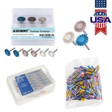 Us Dental Nylon Polishing Prophy Brushcomposite Polisher Diamond Ra Wheel