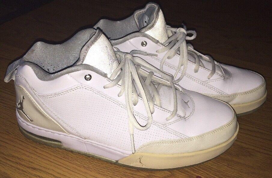 buy popular 43acb 7b622 Men s Nike Air Jordan Jordan Jordan Athletic Shoes 407284-105 Size 10.5  White 870e49