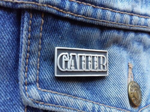 Gaffer Pewter Pin Badge