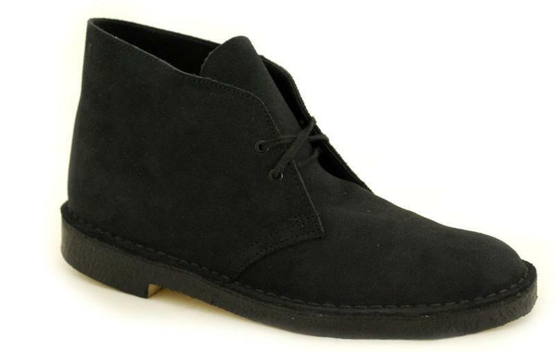 Der Klassiker Clarks Originals The Desert Boot Navy Suede 00111764 (8)