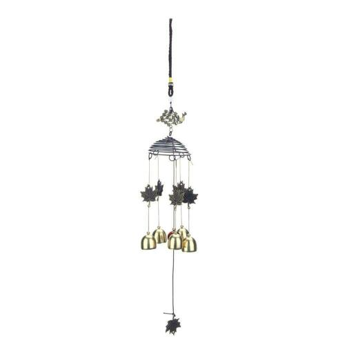 Large Muti-Tubes Windchime Chapel Bells Metal Wood Wind Chimes Door Home Decor