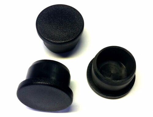100 x ø 28 x 2 mm fußkappen Noir rohrstopfen extrémités BOUCHONS NEUF