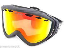 BLOC small-medium MARS ski snowboard Goggles MATTE BLACK/ Fire MIRROR Cat.3 RS50