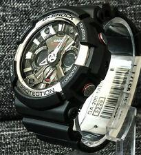 Casio G Shock GA-200-1AER Negro Extra Grande Analógico & Digital Wr 200M Nuevo