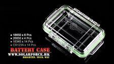 New SolarForce Waterproof Battery Case Box ( 18650 / 26650 / 16340 / CR123A )