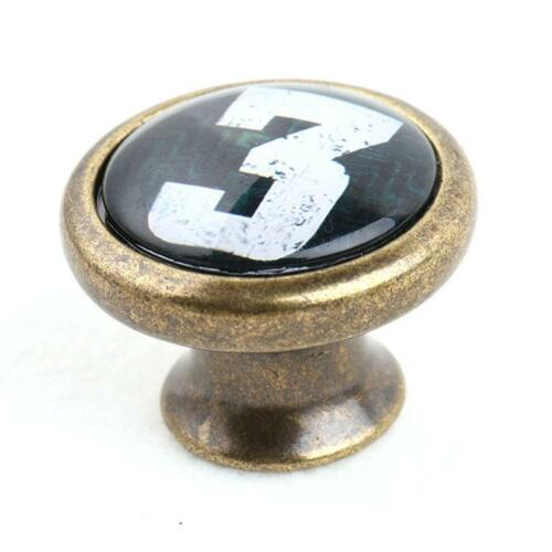 Vintage Chic Number Face Drawer Cupboard Bin Handle Pull Knob Retro Replacement