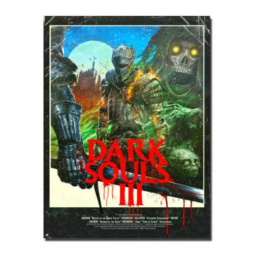 Dark Souls 3 Poster Art Silk Hot Video Game Poster 13x18 24x32inch J301