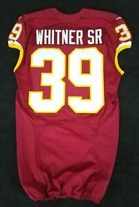 Details about #39 Donte Whitner Sr. of Washington Redskins NFL Game Issued Jersey