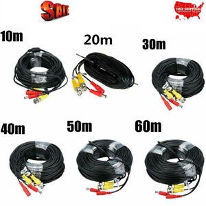 Security-Camera-Cable-Video-Surveillance-Extend-DC-Power-Cord-CCTV-DVR-BNC-Wire