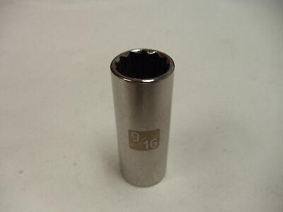 Craftsman 13pc 1//2 SAE DEEP 12pt Point LASER ETCHED Sockets Set INCH Drive STD