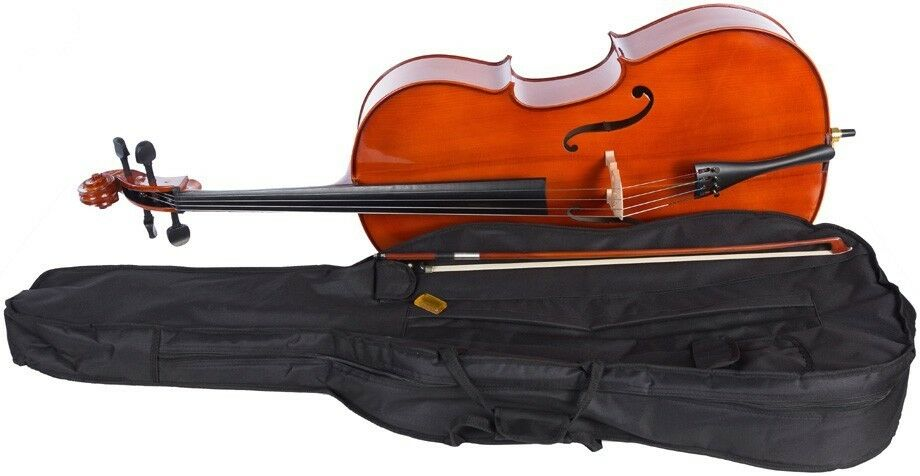 USA Cello 4 4 M-tunes No.100 wood - for learners