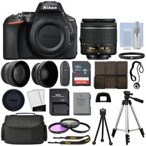 Nikon-D5600-DSLR-Camera-3-Lens-18-55mm-VR-Lens-32GB-Bundle-HOLIDAY-DEAL-SALE