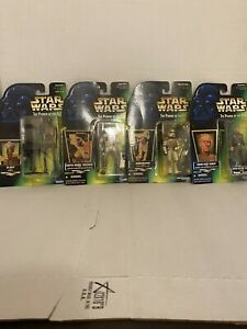 star-wars-power-of-the-force-action-figure-lot-4-Rare-Kenner-Nib