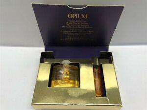 Opium Yves Saint Laurent 2pc Set Secret de Parfum & EDT, Old Classic formula!