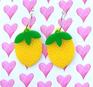 Lemon-Hoop-Earrings-Laser-Cut-Surgical-Steel-Hoops-Acrylic-Earrings