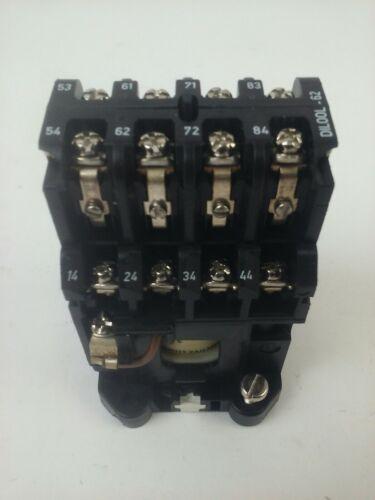 KLOCKNER MOELLER DIL00L-62-NA CONTACTOR RELAY 24V COIL 20A 277V 300V 1HP 3PH