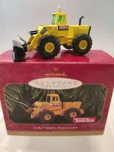 1997 Hallmark Keepsake Ornament Tonka Mighty Front Loader