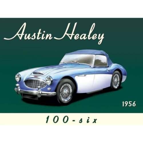 "Original Metal Sign Co mur Signe Austin Healey 100-6 PUB Style 8/"" x 6/"""