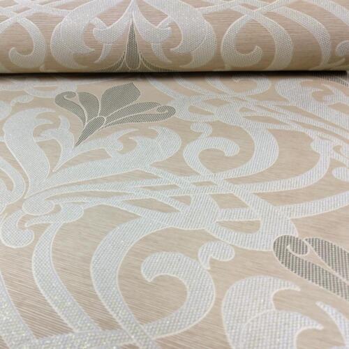 AS Creation Damask Wallpaper Stripe Motif Modern Glitter Textured Roll 327552