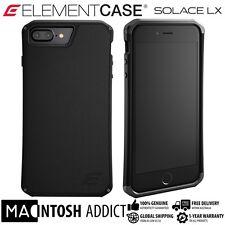Element Case SOLACE LX Genuine Leather Case For iPhone 7 PLUS BLACK | MIL-SPEC