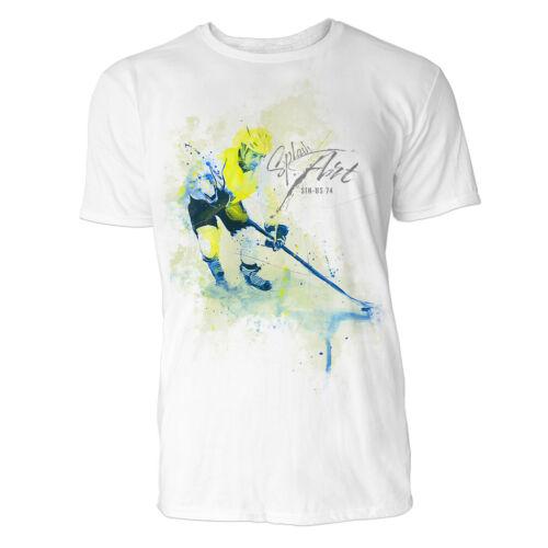 Eishockey Sinus Art ® T-Shirt Crewneck Tee with Frontartwork