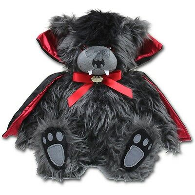 Plush Horse Stuffed Animal, Spiral Direct Ted The Impaler Dracula Vampire Teddy Gothic Stuffed Plush Toy 12 Ebay