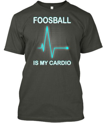 Foosball My Cardio Hanes Tagless Tee T-Shirt