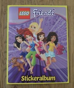 Lego-Friends-Collecting-Stickers-Sticker-Empty-Album-Collector-039-s-Album-Album