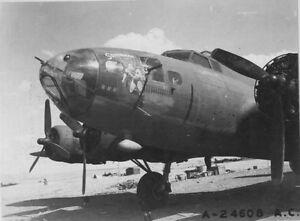 B-amp-W-WW2-Photo-WWII-B-17-Superman-Nose-Art-USAAF-World-War-Two-Army-Air-Corps