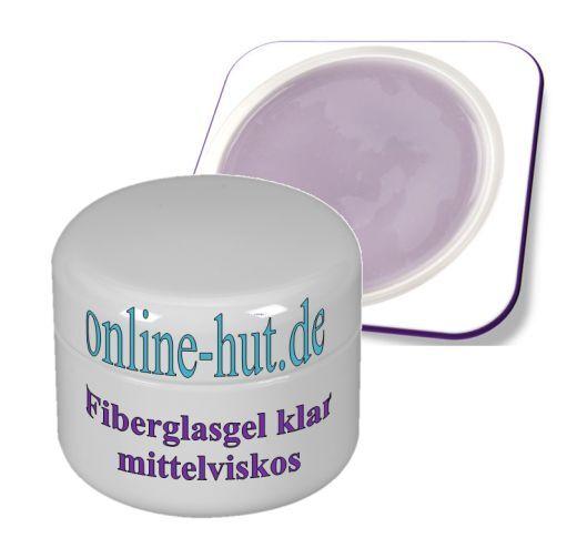 15ml Fiberglasgel klar mittelviskos, UV Gel, Fiberglas, clear, Nagel, Nail, Art