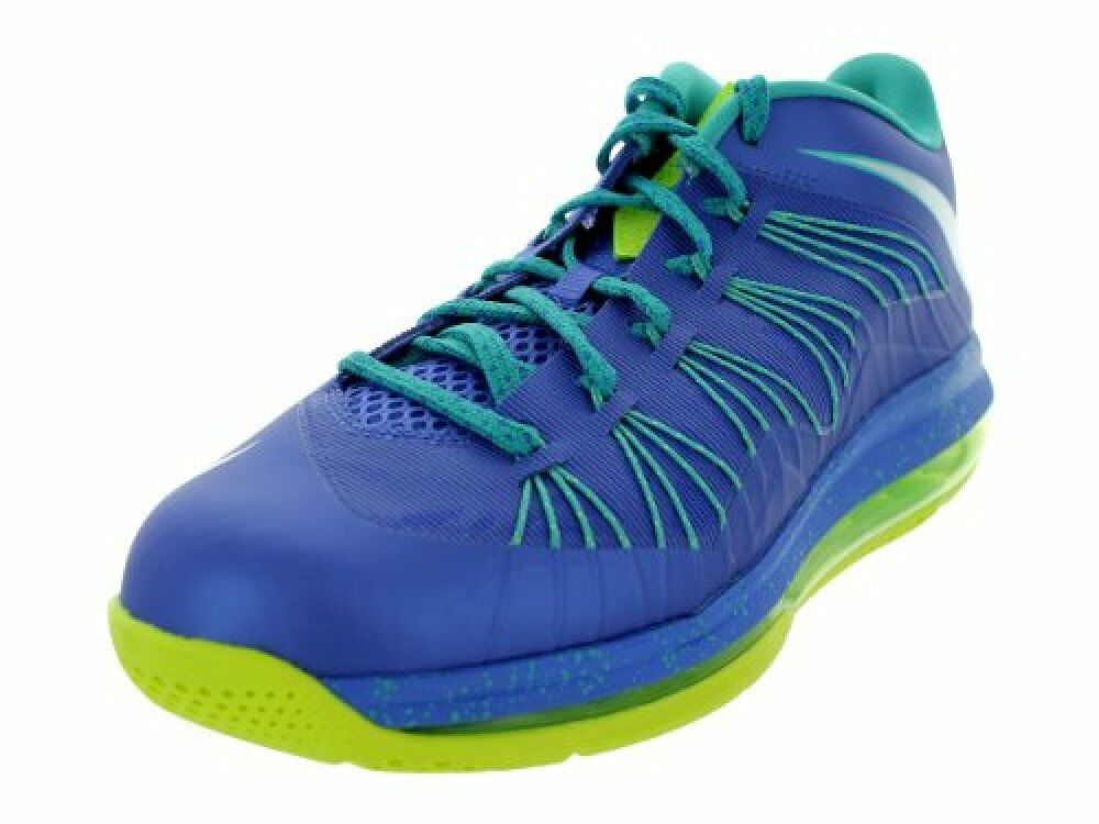 NIKE Air Max Lebron X Low Sprite Mens Basketball shoes 579765-500