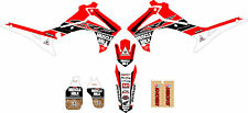 2014 - 2017 HONDA CRF 250 MUSCLE MILK Dirt Bike Graphics kit Motocross Decals