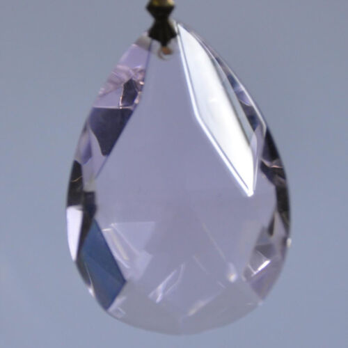 Drilled Crystal Beads Glass Ceiling Lamp Pendant Loose Lucency Faceted Cut Home