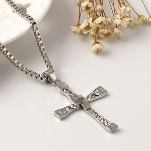 cheap unisex s stainless steel cross pendant necklace