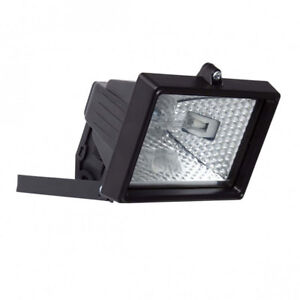 150w security floodlight wall light halogen ip54 outdoor light black image is loading 150w security floodlight wall light halogen ip54 outdoor aloadofball Choice Image