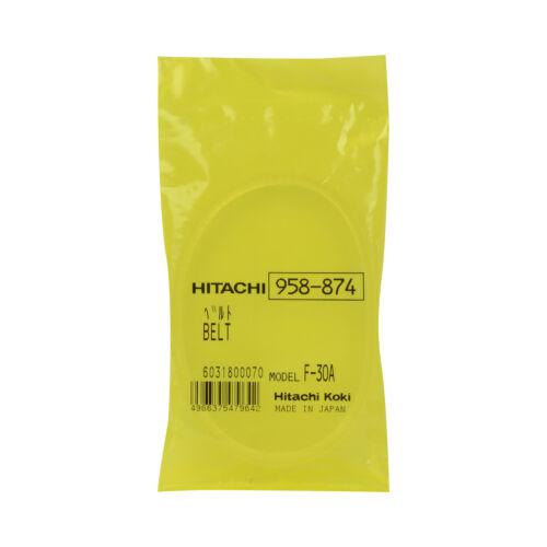 Ceinture Hitachi 958874 SB75 4PK Pour SB75 SB10T SB8T SB8TA F30A Sander 958-874 B