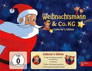 8-DVDs-WEIHNACHTSMANN-amp-CO-KG-TV-SERIE-COLLECTOR-039-S-EDITION-NEU-OVP-amp