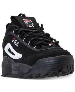 Fila Kids Disruptor II Black/White
